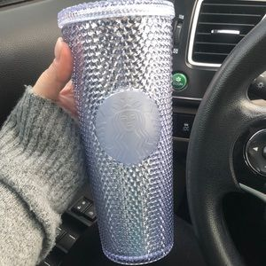Diamond Studded Starbucks Tumbler